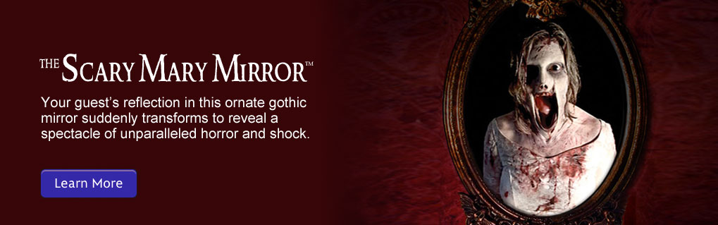 Buy this Bloody Mary in the Mirror Halloween Prop for professional and home haunts