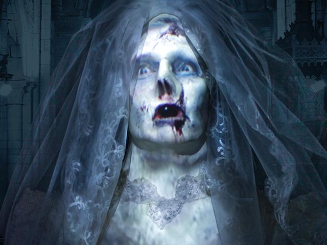 Life-size Zombie Bride Halloween Prop