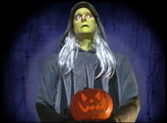 Life-size Halloween Witch Haunted House Prop