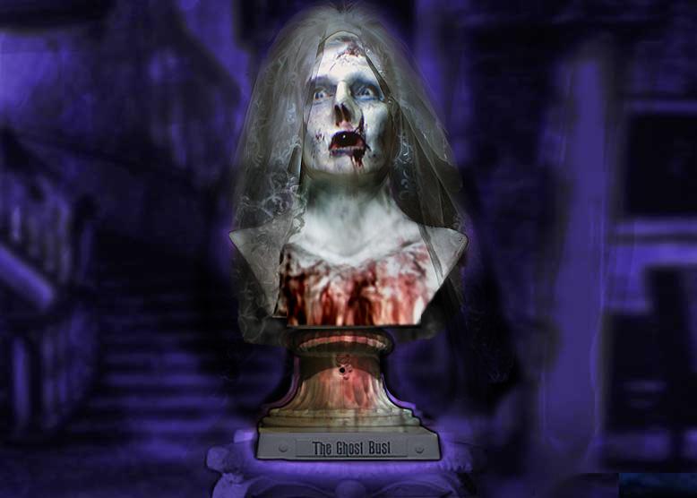Creepy zombie bride Animatronic Halloween Prop