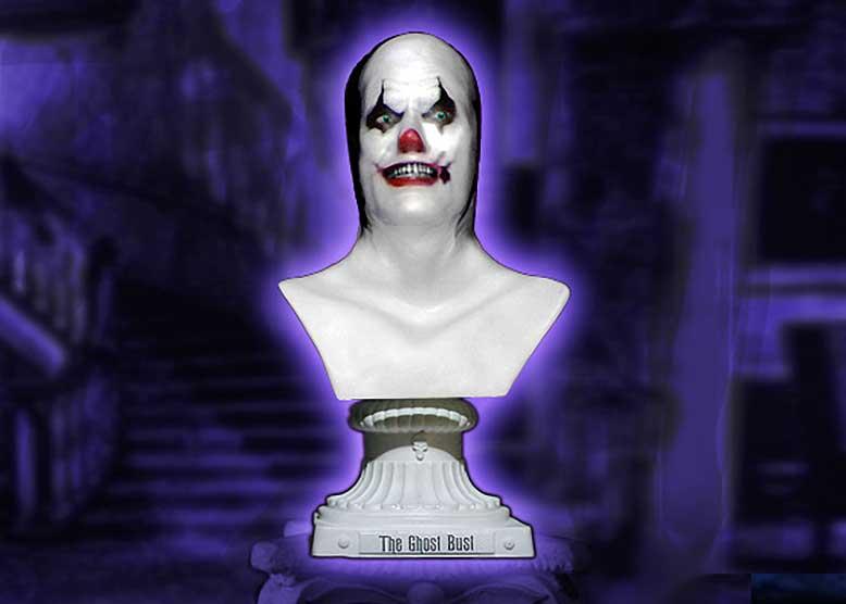 Clown Halloween Bust