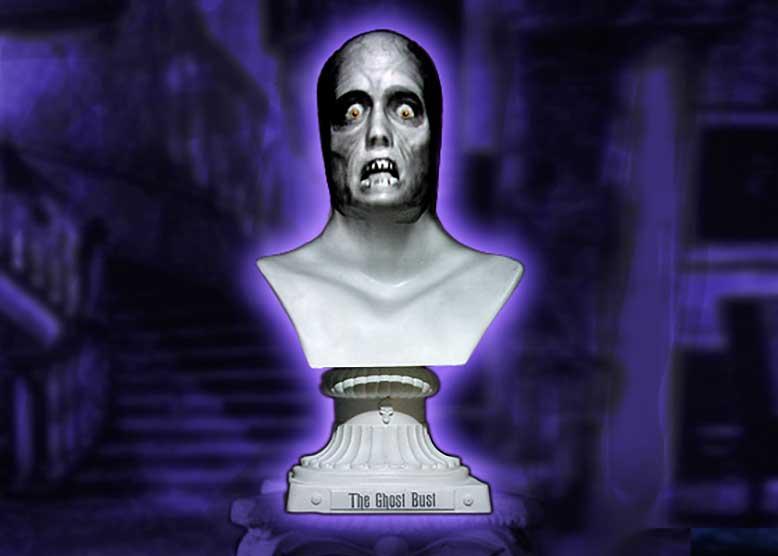Singing Halloween Bust fun homage to Disney's Haunted Mansion