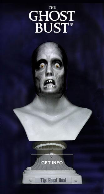 Halloween Projection Statue for Best Haunt Video