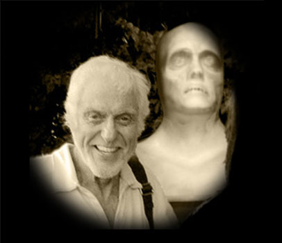 Dick Van Dyke commissions the Ghost Bust for Prop Video Effects for Celebrity Halloween Display