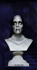 Halloween Projection Statue