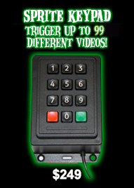 10-Key Keypad to Trigger Videos