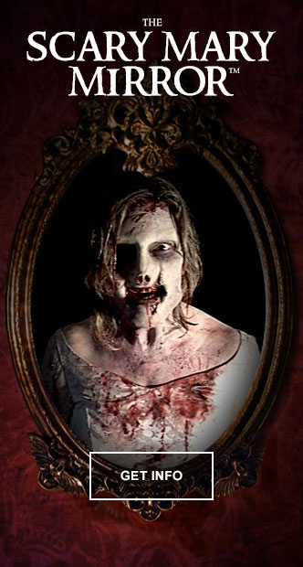 Bloody Mary in the Mirror prank Halloween Scary Mary Mirror Prop