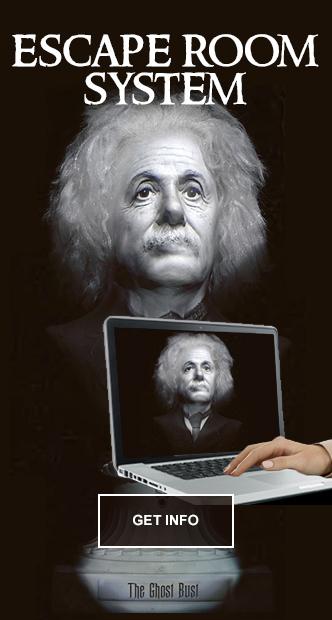 Talking Einstein Escape Room Prop