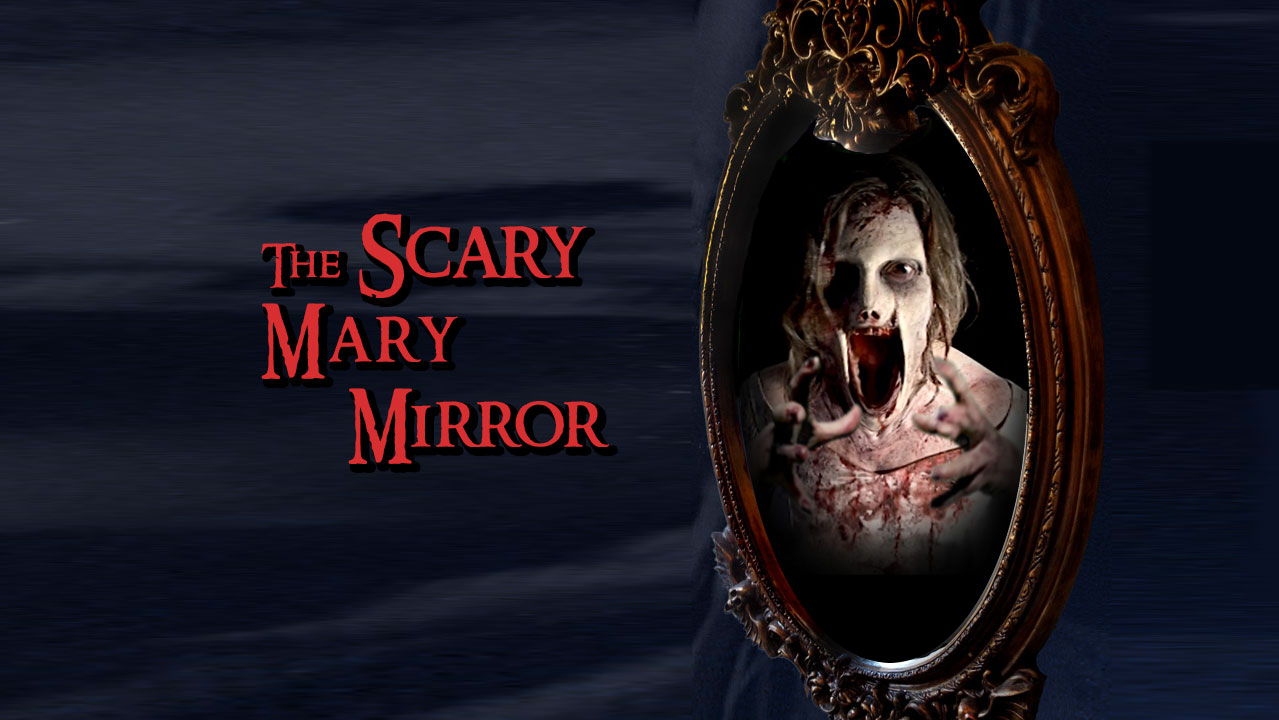 Scary Bloody Mary Mirror Prop